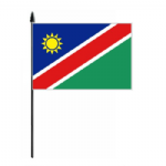 Namibia Country Hand Flag - Medium.
